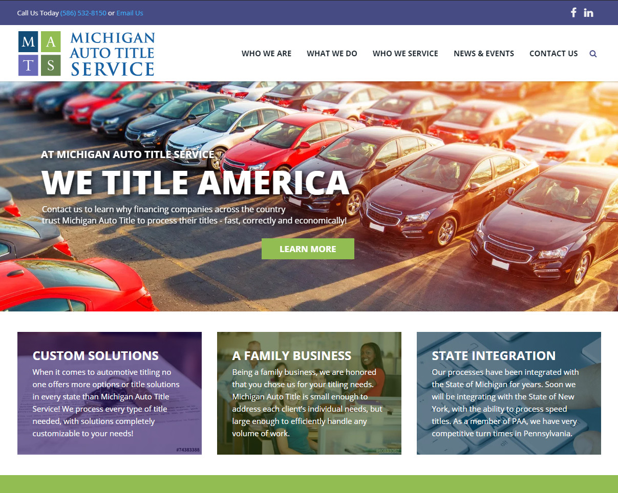 Michigan Auto Le Service Inc Processing Les In All 50 States Including Repossession Duplicate Transfer Redemption